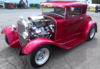 1930 Ford Model A -BEAUTIFUL CLASSIC- 2 INCH CHOPPED TOP- 350 .60 OVER V8 ENGINE/ AUTOMATIC