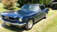 1966 Ford Mustang MINT CONVERTIBLE PONY!! FRESH RESTO-FREE SHIPPING