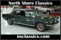1966 Ford Mustang -GT-HIGH PERFORMANCE CONVERTIBLE-FACTORY 4 SPEED-SEE VIDEO