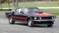 1969 Ford Mustang REAL MACH 1-SHAKER HOOD-RESTORED-RAVEN BLACK-SEE VIDEO