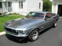 1969 Ford Mustang FASTBACK SILVER PONY