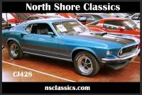 1969 Ford Mustang REAL DEAL 428 CJ-COBRA JET-4 SPEED-NEW LOW PRICE-SEE VIDEO