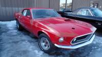 1969 Ford Mustang FASTBACK-DRIVING PROJECT