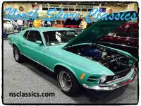 1970 Ford Mustang MACH 1- 428 COBRA JET ENGINE-MARTI REPORT