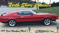 1971 Ford Mustang MACH 1 - VERY NICE RED CHERRY