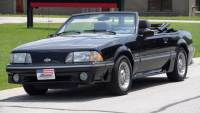 1988 Ford Mustang GT CONVERTIBLE-LOW MILES-ORIGINAL-CLEAN VIN REPORT-SEE VIDEO