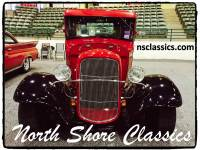 1934 Ford Pick-Up -ALL STEEL- EXCELLENT RED PAINT-