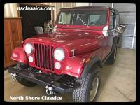 1978 Jeep CJ7 -CLEAN AND SOLID-CHERRY BOMB EXHAUST-REMOVABLE HARDTOP