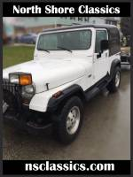 1988 Jeep Wrangler -YJ- 4WD WITH 7FOOT PLOW-