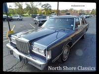 1987 Lincoln Town Car -ORIGINAL LOW MILES- 5.0 L Engine- NUMBERS MATCHING- SURVIVOR CAR