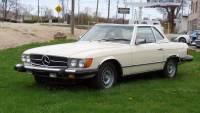 1978 Mercedes Benz 450SL CONVERTIBLE SUMMER FUN