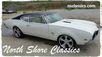 1968 Oldsmobile Cutlass - BLACK AND WHITE COLOR COMBO-