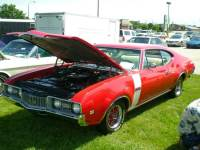 1968 Oldsmobile Cutlass 442 Tribute-RARE COLOR COMBO-SWEET OLDS