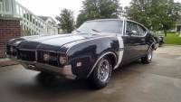 1968 Oldsmobile Cutlass REAL 442 HOLIDAY COUPE