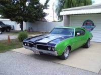 1969 Oldsmobile Cutlass 442-THE REAL DEAL