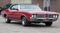 1972 Oldsmobile Cutlass RUST FREE CONVERTIBLE-FULL OF OPTIONS-SUMMER FUN-SEE VIDEO