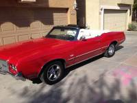 1972 Oldsmobile Cutlass CONVERTIBLE FROM ARIZONA-