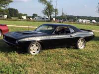 1972 Plymouth Cuda AAR FAST AND FURIOUS 7 TRIBUTE-BLACK ON BLACK MOPAR-NEW PAINT-SEE VIDEO