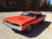 1973 Plymouth Cuda HEMI ORANGE WITH 300 MILES ON FRESH 440-SEE VIDEO