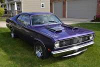 1972 Plymouth Duster PLUM CRAZY PURPLE-360 CRATE ENGINE-ARIZONA CAR-SEE VIDEOS