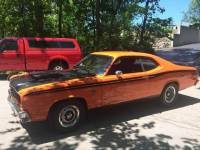 1974 Plymouth Duster HEMI ORANGE DUSTER! 340CI BORED 30 OVER!