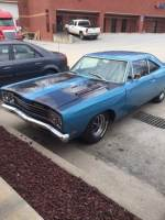1969 Plymouth Road Runner FACTORY BIG BLOCK 4 SPEED MOPAR