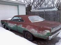 1968 Plymouth Satellite NEED RESTORATION-ROLLER