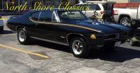1968 Pontiac GTO -BEAUTIFUL BLACK ON BLACK-BUILT BIG BLOCK 455