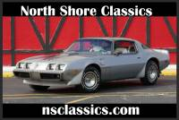 1979 Pontiac Trans Am -ONLY 5658 MILES-LIMITED EDITION-10th Silver Anniversary-LEATHER INTERIOR-