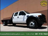 2008 Ford F-450 SD XL CREW CHASSIS 2WD DUALLY LONG BED FLAT BED
