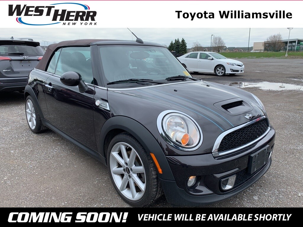 Photo 2012 MINI Cooper S S Convertible For Sale - Serving Amherst