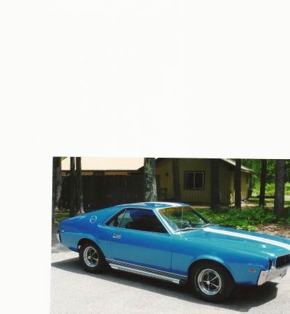 Photo 1968 Amc Amx Drive a piece of American Muscle Car History
