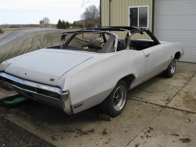 Photo 1970 Buick GS BARN FIND-CONVERTIBLE