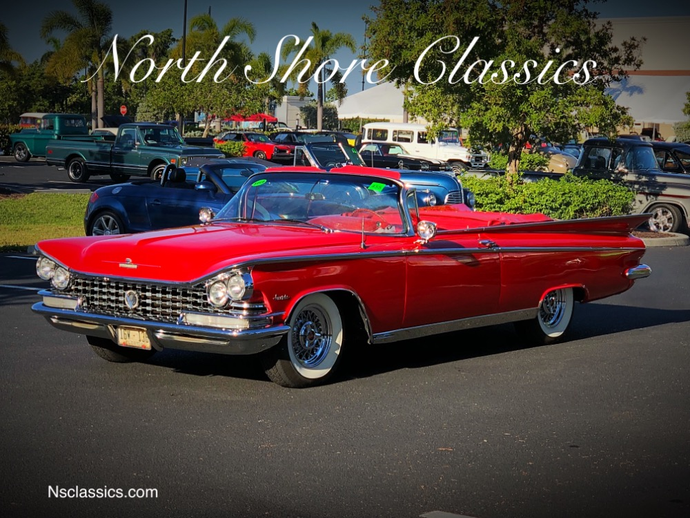 Photo 1959 Buick Invicta -RARE CONVERTIBLE- 1 OF 5447 BUILT WITH 48K ORIGINAL MILES-WOW-SEE VIDEO