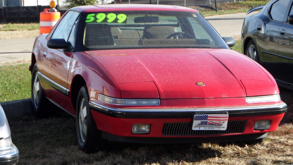 Photo 1989 Buick Reatta RESALE RED-CLEAN CAR