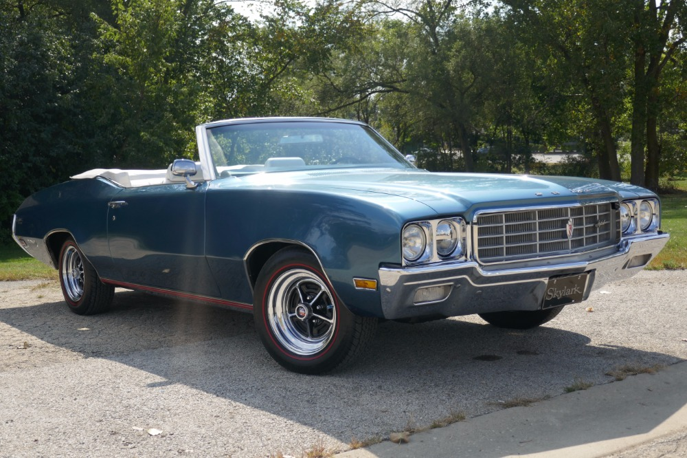 Photo 1970 Buick Skylark -BEAUTIFUL  METICULOUSLY MAINTAINED-DIPLOMAT BLUE CONVERTIBLE -SEE VIDEO