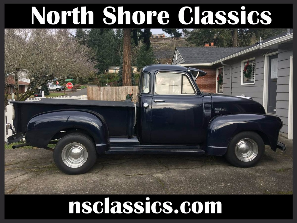 Photo 1952 Chevrolet 3100 TRI POWER 5 WINDOW PICKUP UP WITH NEW CUSTOM INTERIOR