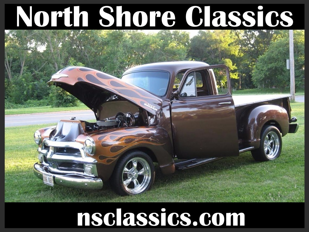 Photo 1954 Chevrolet 3100 ROOT BEER METALLIC BROWN 383 STROKED V8 PICKUP