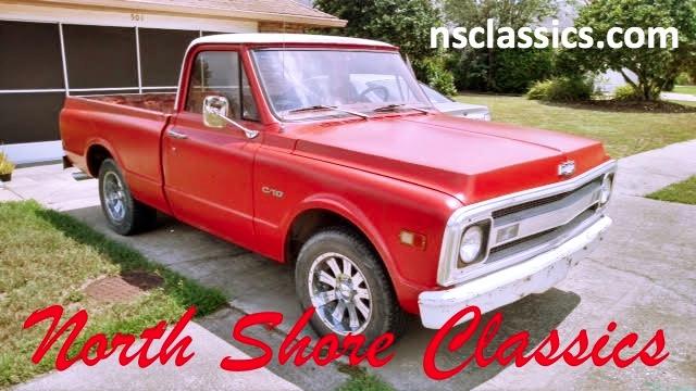 Photo 1969 Chevrolet C10 -SHORT BED PICKUP-