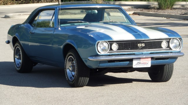 Photo 1967 Chevrolet Camaro SS emblems with 4 Speed-Restored-SEE VIDEO