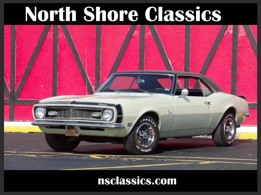 Photo 1968 Chevrolet Camaro - SWEET RIDE-RARE FACTORY CREAM COLOR-NEW LOW PRICE SEE VIDEO