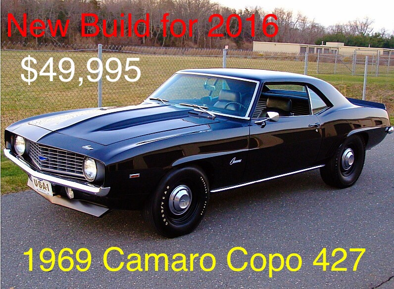Photo 1969 Chevrolet Camaro COPO 427 NEW BUILD