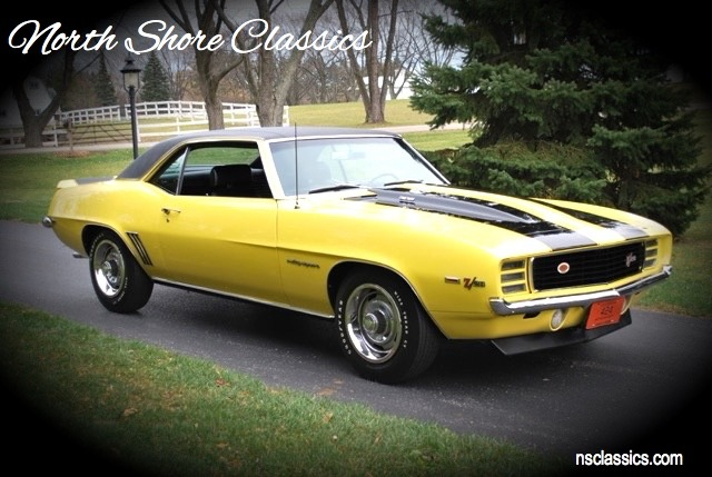 Photo 1969 Chevrolet Camaro - RSZ28 DAYTONA YELLOW-WELL DOCUMENTED NUMBERS MATCHING MUSCLE CAR-