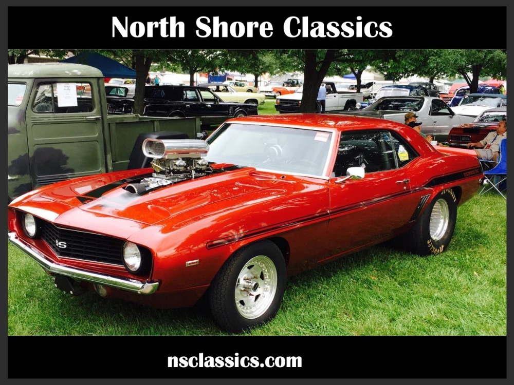 Photo 1969 Chevrolet Camaro SUPERCHARGED-BIG BLOCK-STREET LEGAL-SUPER FAST- SEE VIDEO