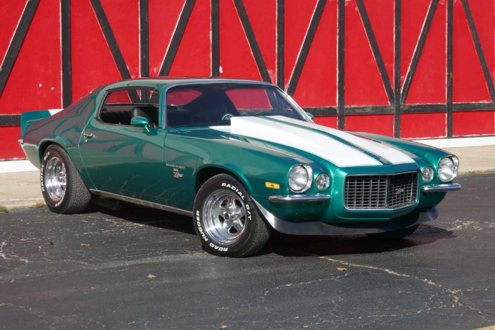 Photo 1972 Chevrolet Camaro -SPLIT BUMPER - 454 -RALLEY GREEN - SOLID MUSCLE CAR- SEE VIDEO