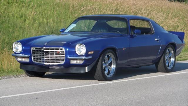 Photo 1972 Chevrolet Camaro VIPER BLUE