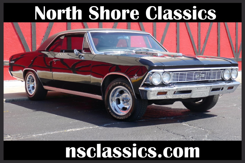 Photo 1966 Chevrolet Chevelle -TRIPLE BLACK 327 AUTOMATIC V8- REDUCED PRICE- SEE VIDEO