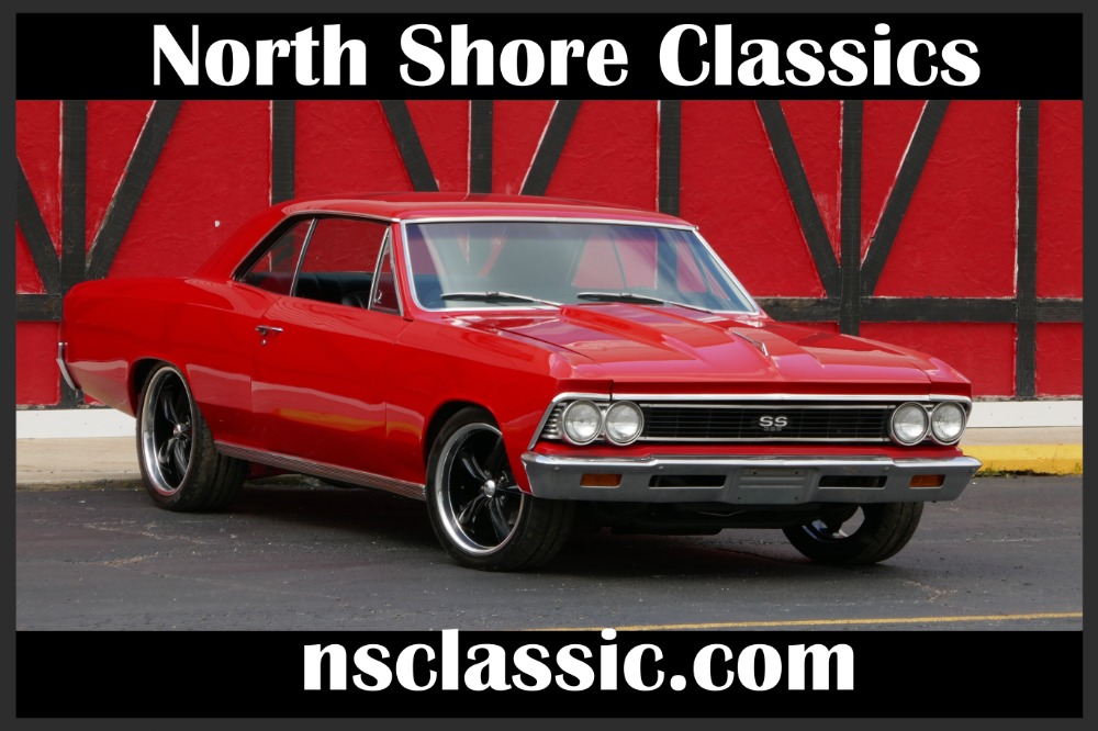Photo 1966 Chevrolet Chevelle -Supercharged 355 super nice paint- Pro touring - SEE VIDEO