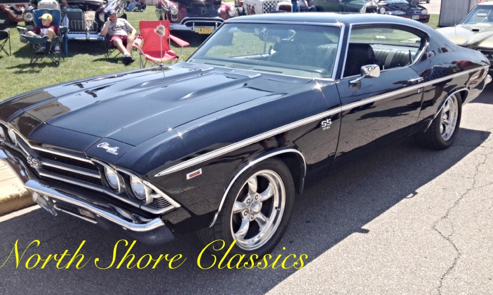 Photo 1969 Chevrolet Chevelle SS-BACK IN BLACK-