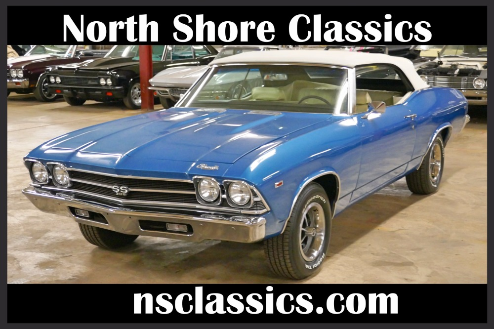 Photo 1969 Chevrolet Chevelle -CONVERTIBLE-NEW LOW PRICE- FRAME OFF RESTO-SEE VIDEO